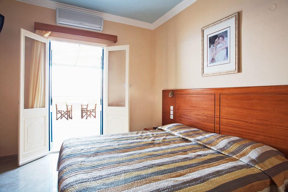 1-værelses lejlighed med stor balkon