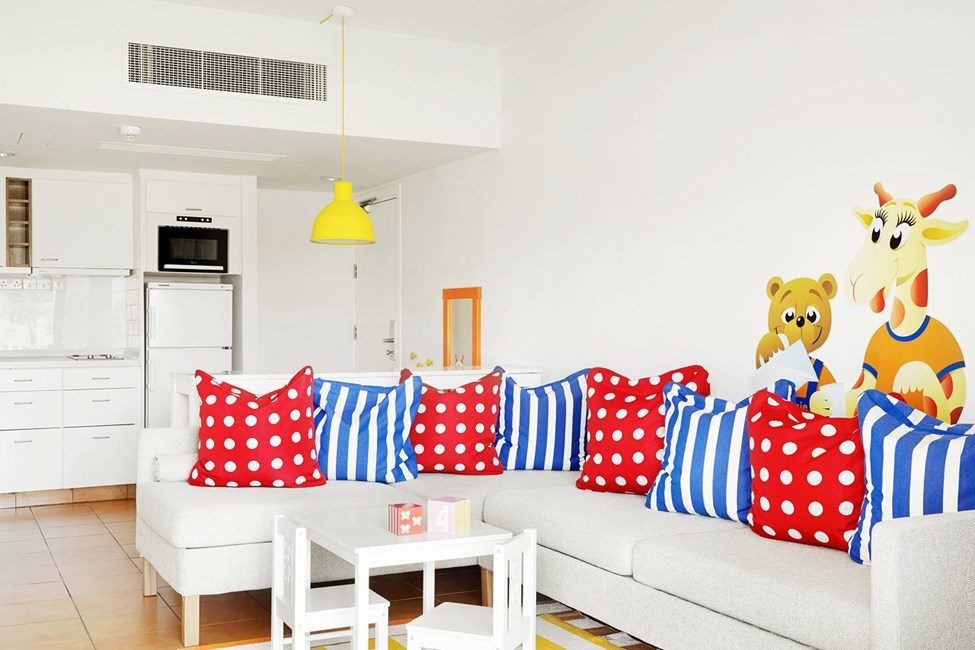 Lollo & Bernie Suite med indhegnet terrasse i stueplan