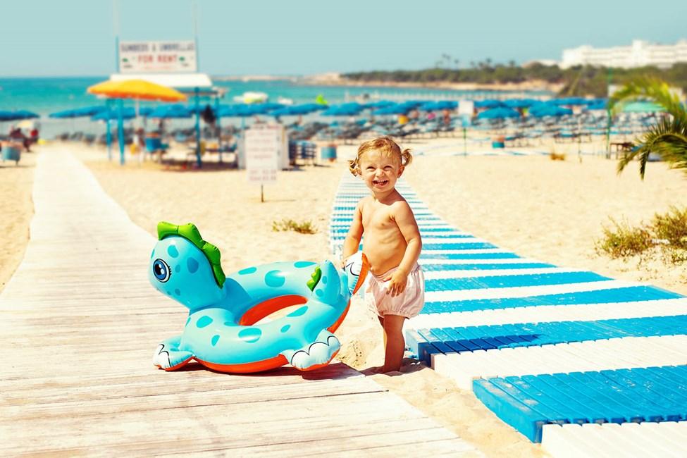 Sunwing Sandy Bay Beach ligger blot 100 meter fra stranden