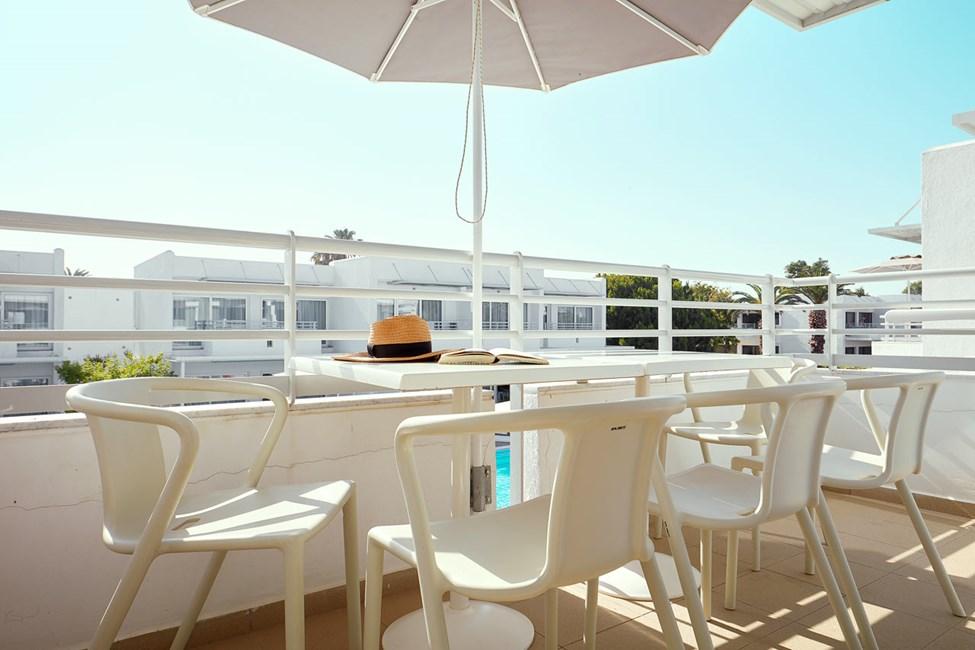 2-værelses Family-lejlighed til 5 personer med balkon mod omgivelserne