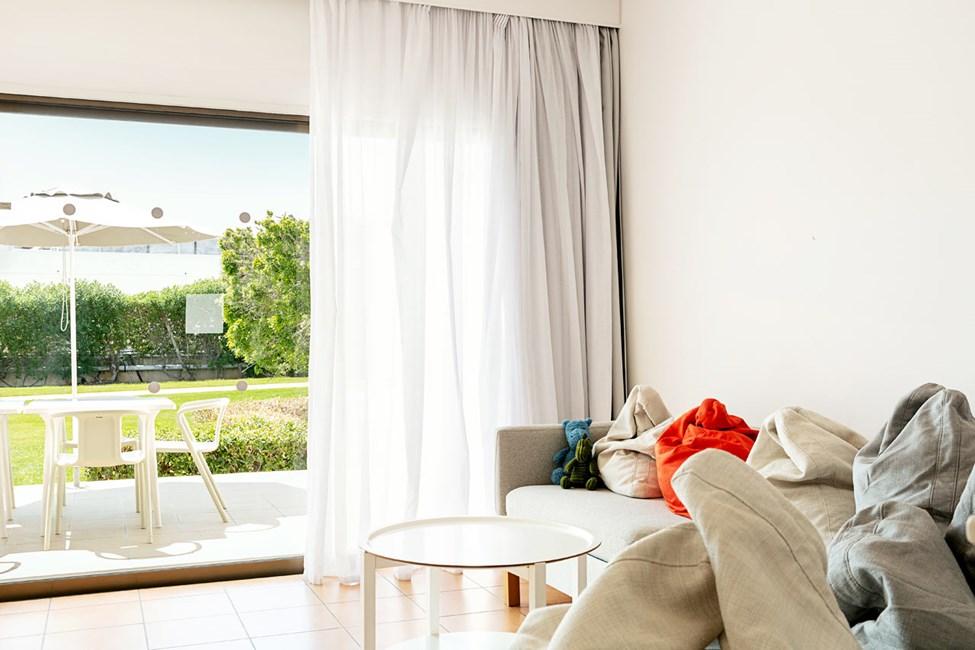 3-værelses Big Family-lejlighed med terrasse mod omgivelserne