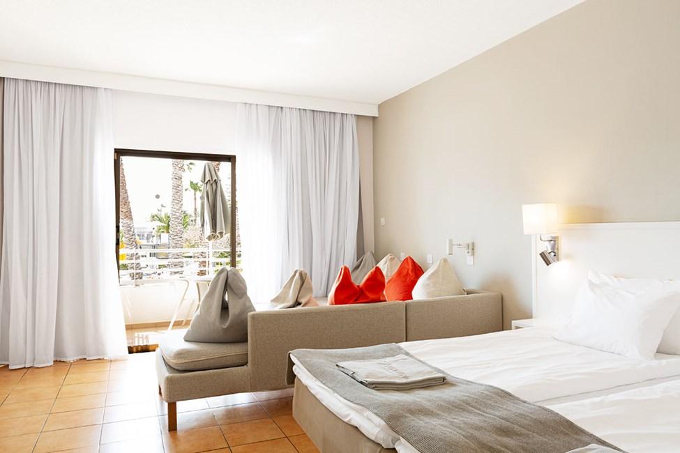 1-værelses Family-lejlighed med balkon mod poolområdet