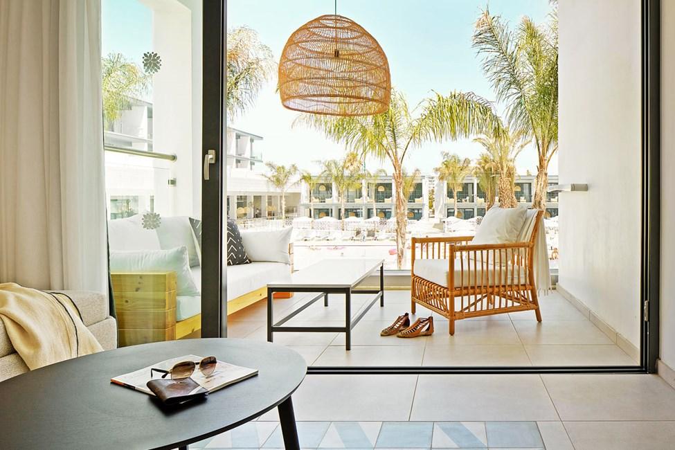 1-værelses Compact Suite med balkon mod poolområdet