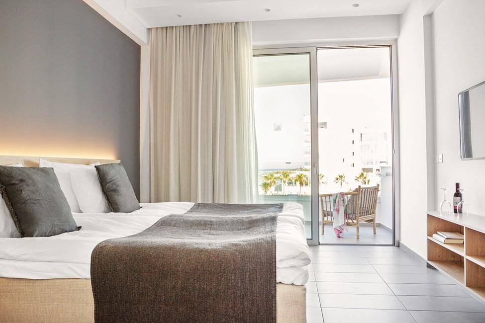 Dobbeltværelse Classic Room med balkon mod havet