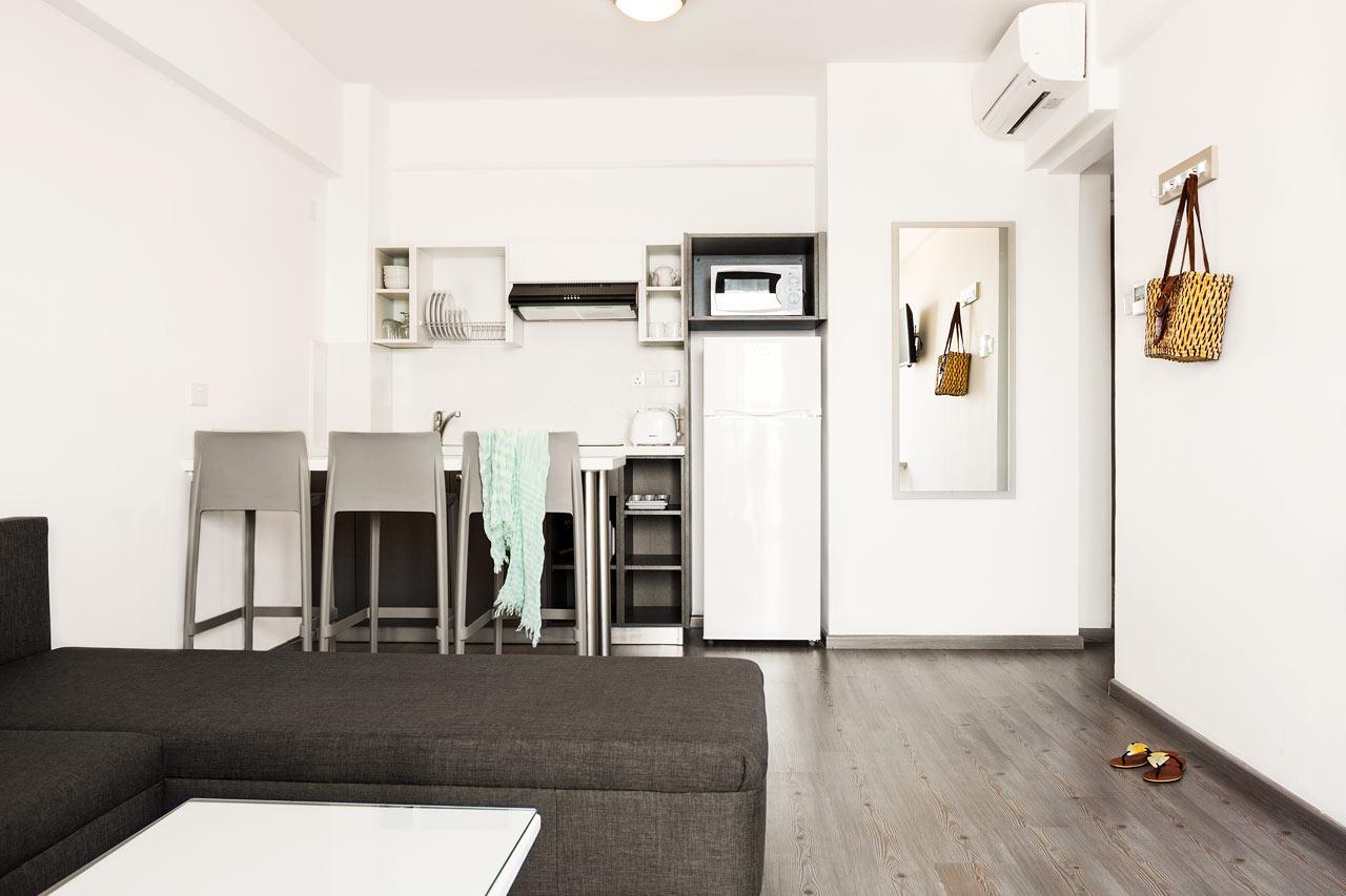 2-værelses lejlighed superior med balkon mod omgivelserne