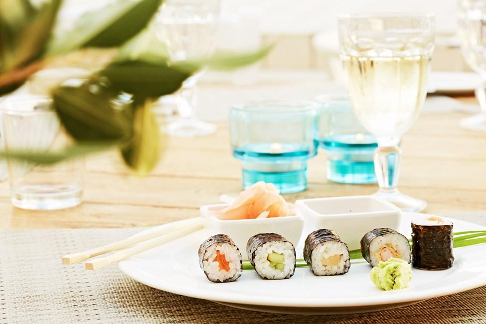 En aften om ugen kan du nyde asiatiske retter i buffetrestauranten