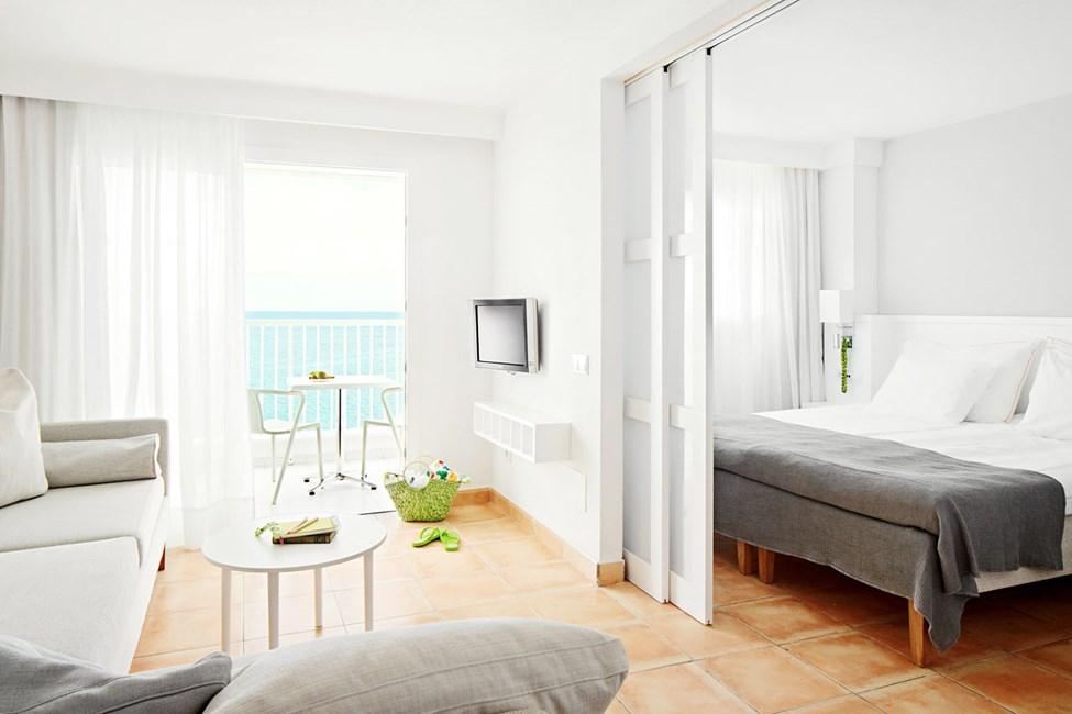 2-værelses Family-lejlighed med balkon med havudsigt