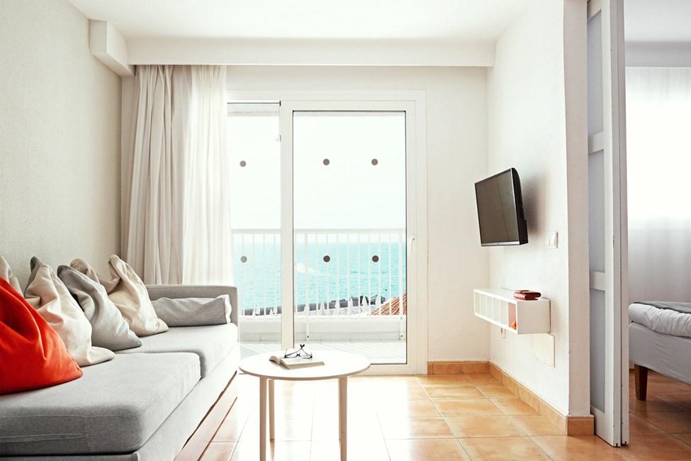 Handicapvenlig 2-værelses Family-lejlighed med balkon med havudsigt