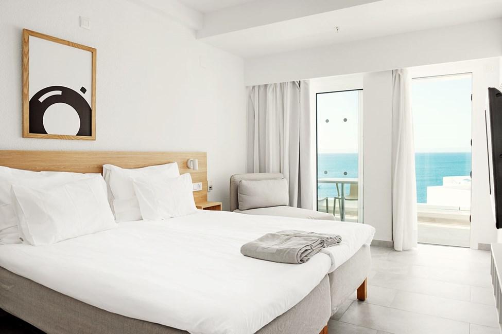 1-værelses Small Family-lejlighed med balkon med havudsigt
