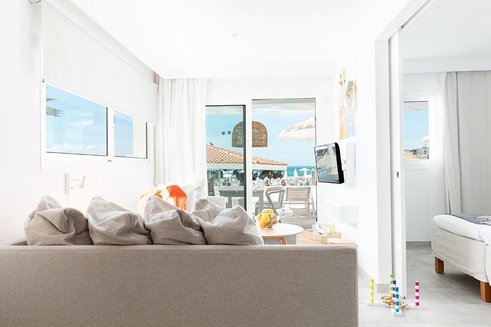 2-værelses Lollo & Bernie Suite med balkon med havudsigt