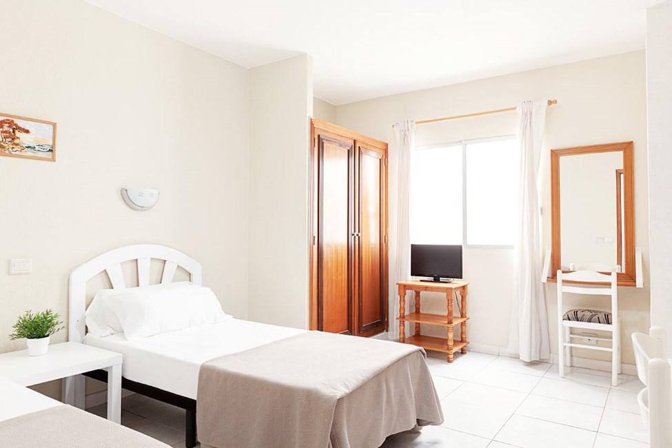 1-værelses lejlighed uden udsigt