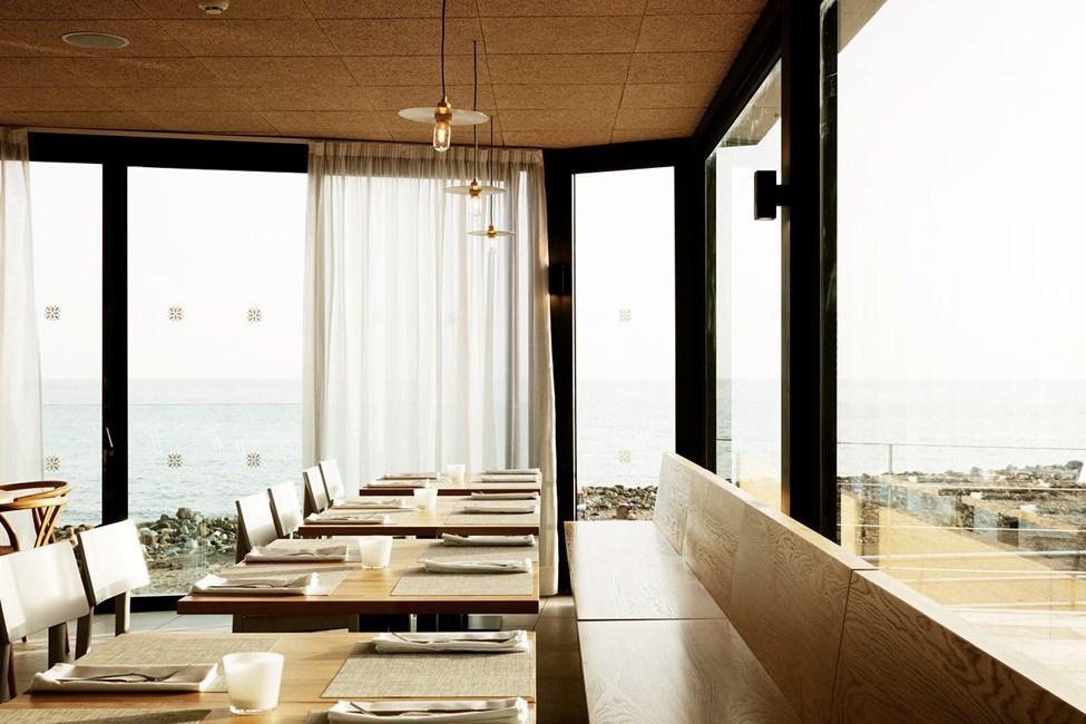Ocean Beach Clubs restaurant byder på flot udsigt og lækker mad