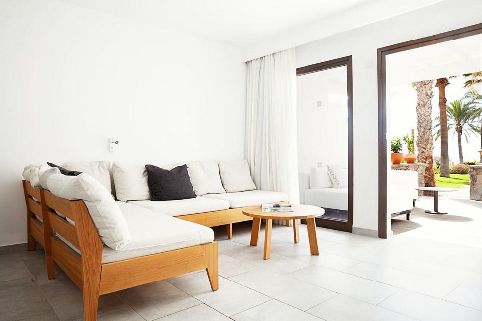 3-værelses Generous Suite med terrasse mod haven