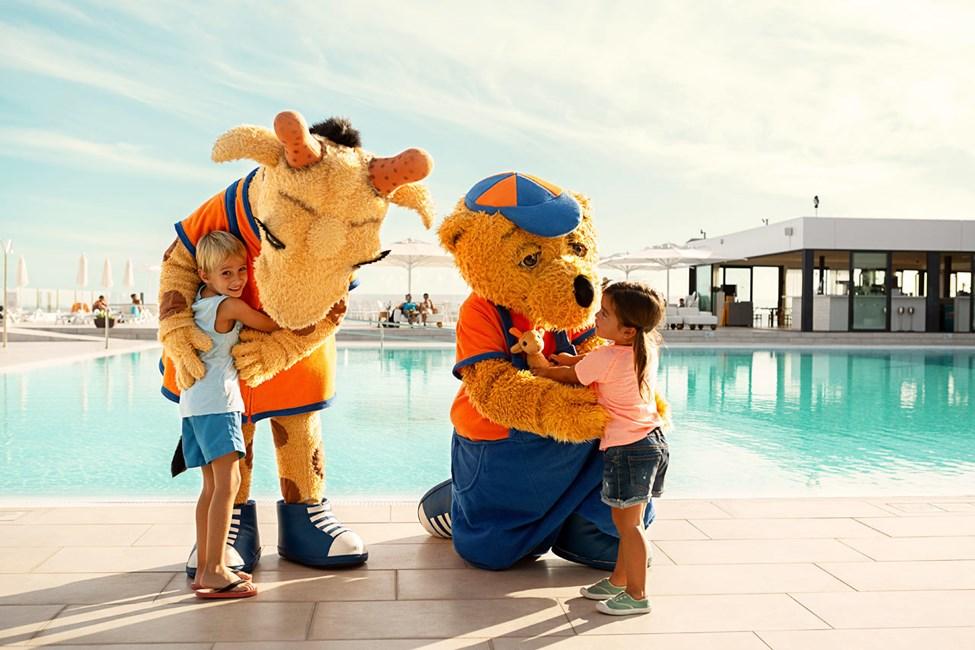 På Ocean Beach Club - Gran Canaria kan du møde Lollo & Bernie