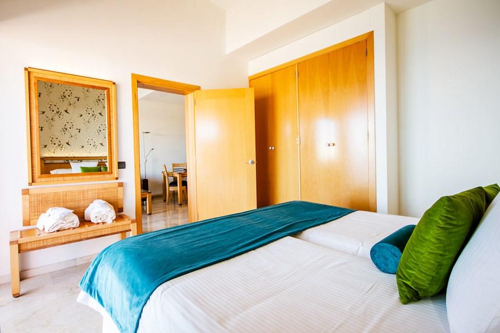 2-værelses lejlighed på øverste etage
