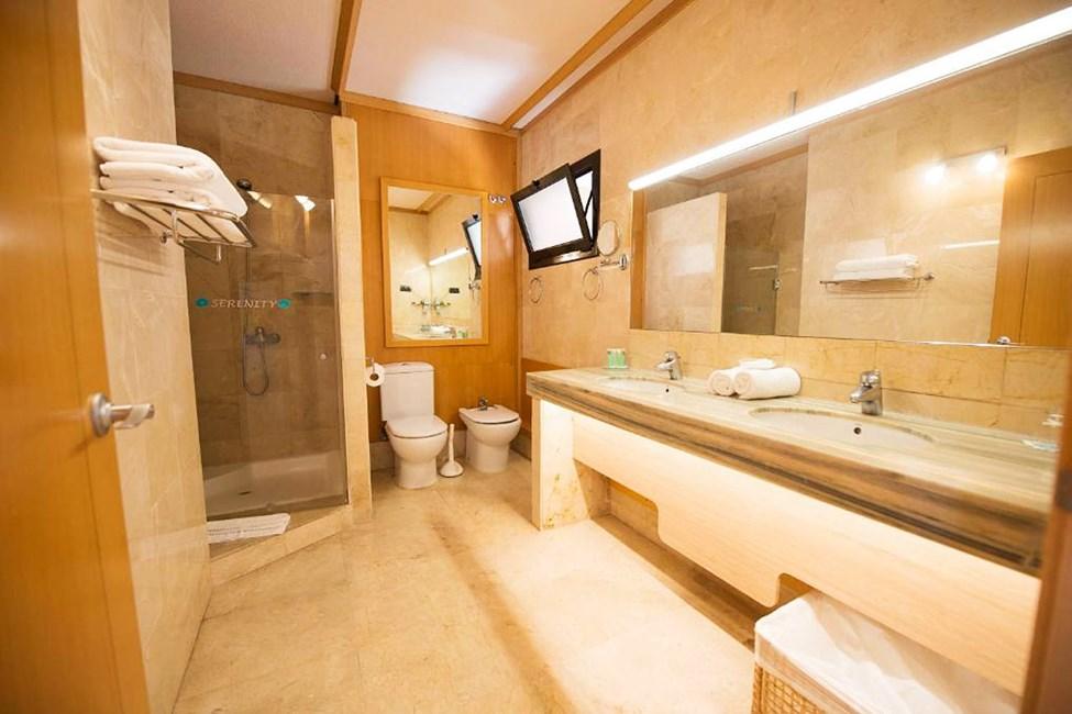 Eksempel på badeværelse i lejlighed