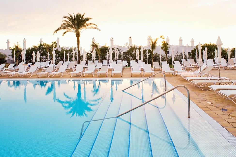 Hotellets dejlige poolområde