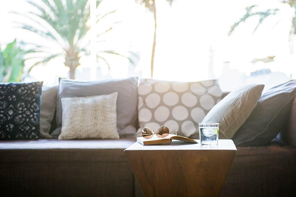 Slap af og nyd ferien i hotellets lounge
