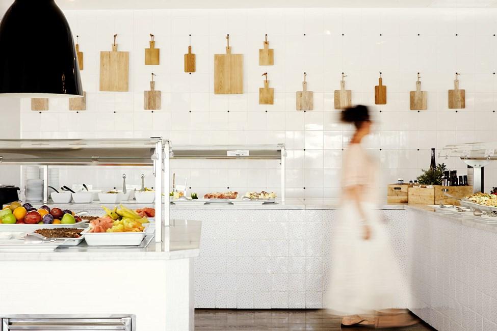 Hotellets buffetrestaurant