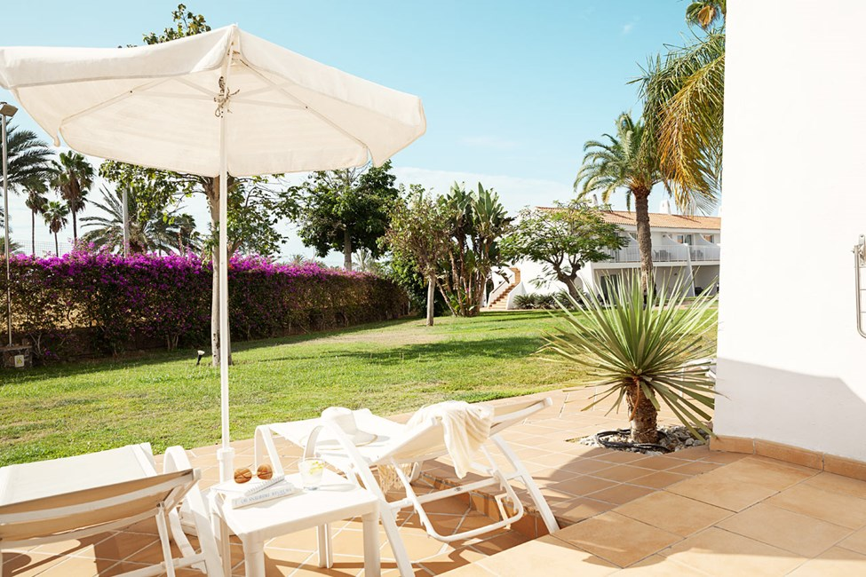 Handicapvenlig Classic Suite med terrasse mod haven