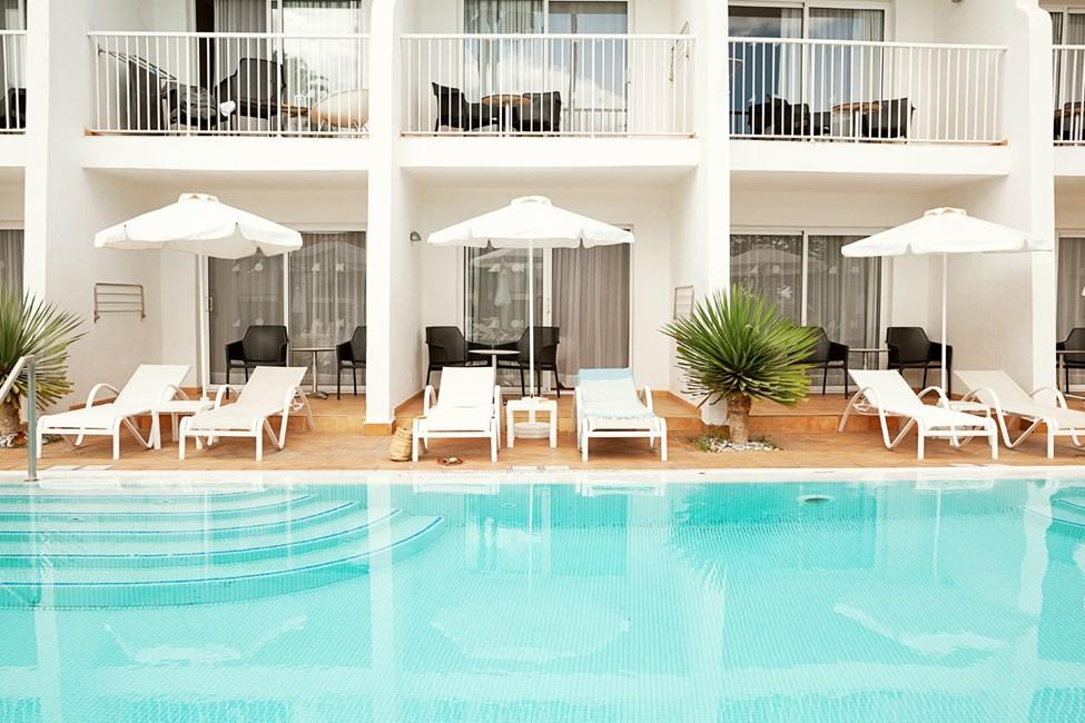 Prime Pool Suite med direkte pooladgang