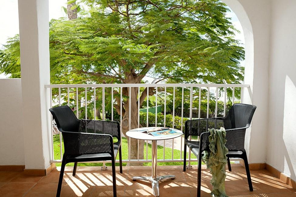 Junior Suite med balkon mod omgivelserne