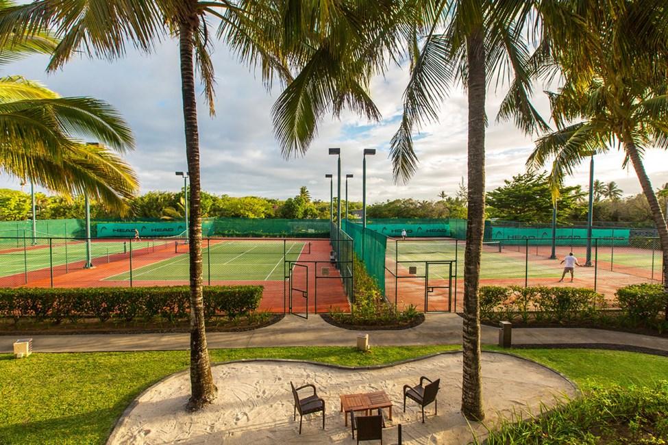 Hotellets tennisbaner