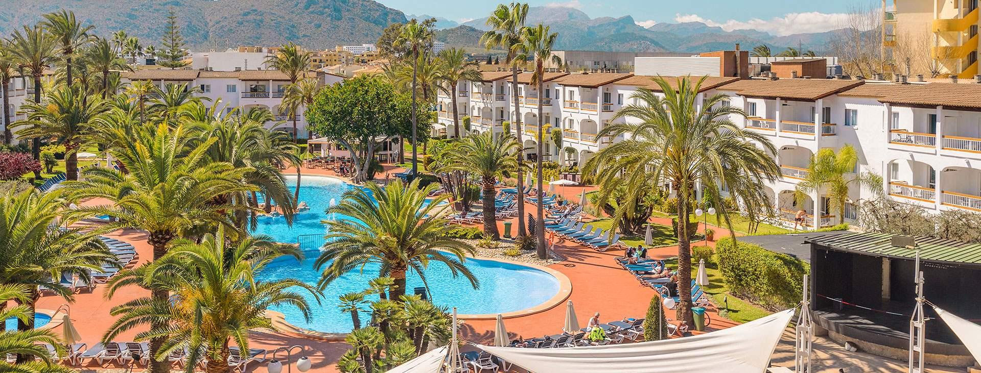 Alcudia Garden Bestil Hotel I Alcudia Hos Spies