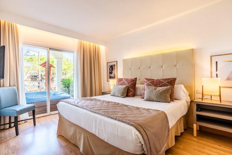 1-værelses lejlighed med stor terrasse