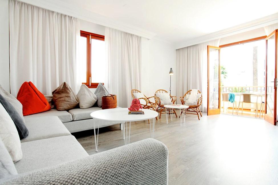 I Villa Isabel bor du i lyse, luftige og moderne indrettede lejligheder