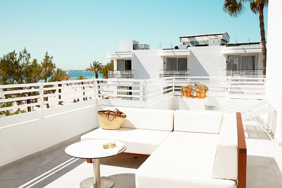 2-værelses Royal Rooftop Suite med stor balkon med havudsigt, Villa Princesa
