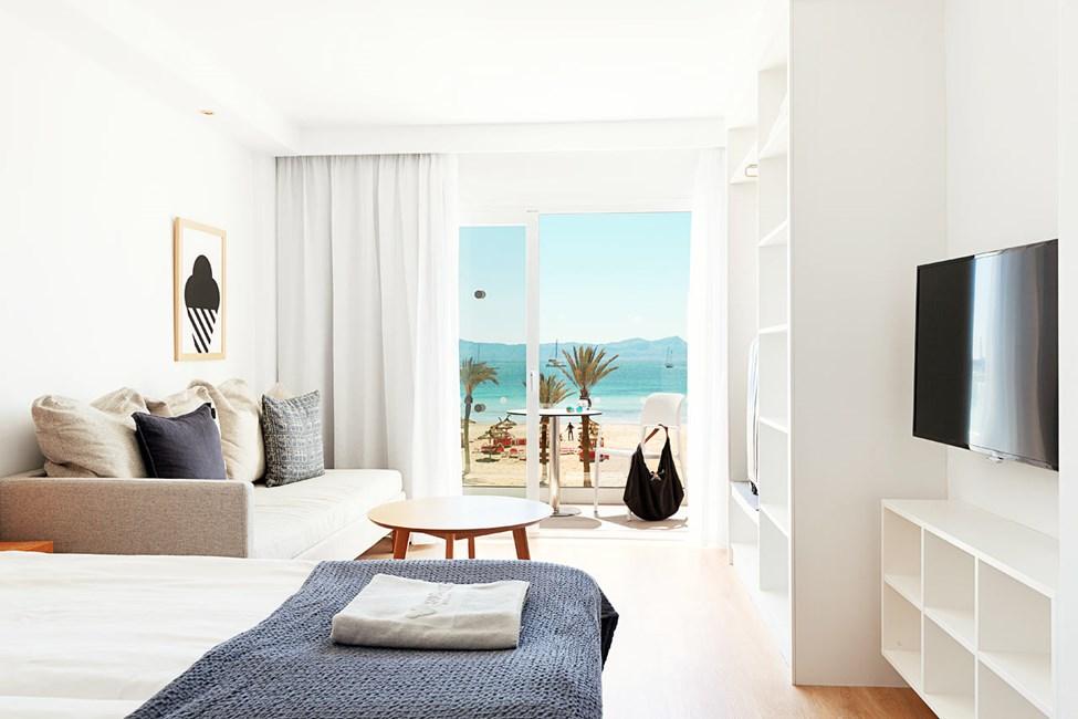 1-værelses Small Family-lejlighed med balkon med havudsigt, Nuevas Palmeras