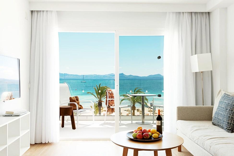 3-værelses Royal Family Suite med balkon med havudsigt, Nuevas Palmeras