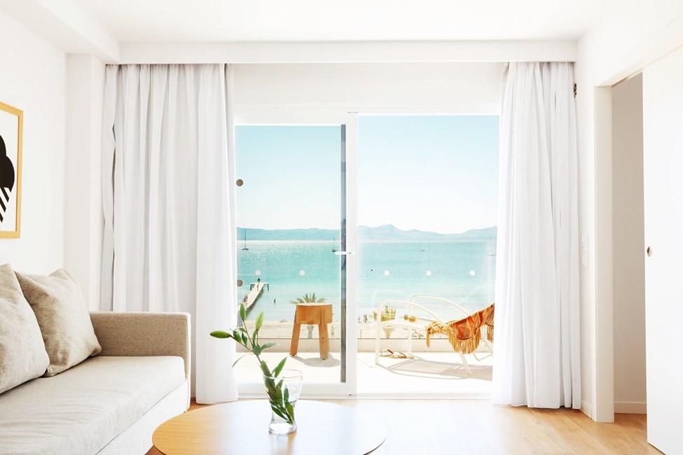 2-værelses Royal Family Suite med balkon med havudsigt, Nuevas Palmeras