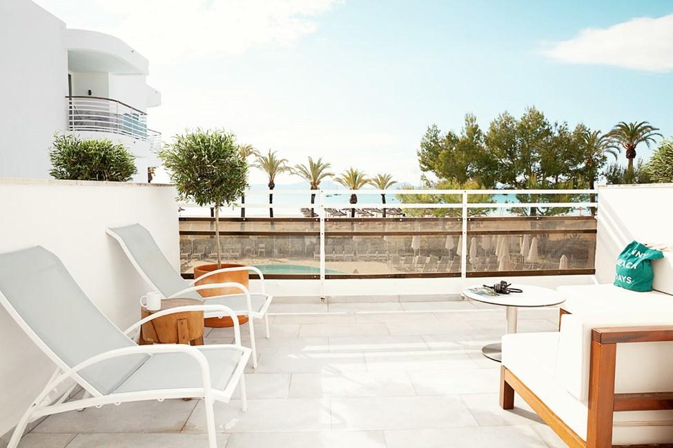 2-værelses Royal Lounge Suite med stor balkon med havudsigt, Princesa