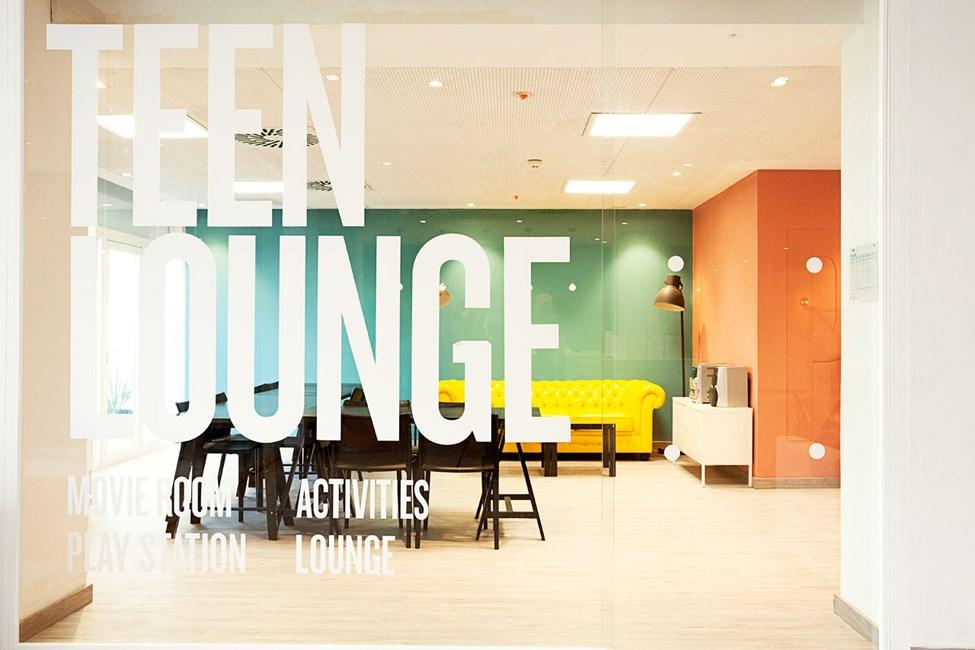 Teen Lounge på Princesa