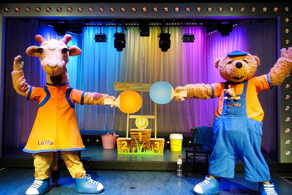 Lollo & Bernie underholder både store og små med underholdende shows