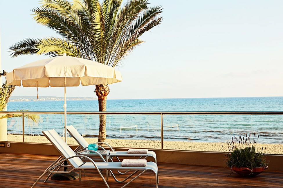 Terrassen - med Middelhavet som nabo