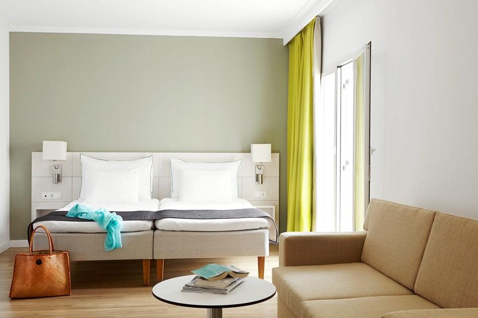 Classic Suite med balkon mod omgivelserne/gaden