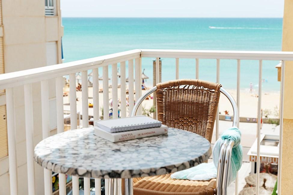 1-værelses Classic Suite med balkon mod omgivelserne/gaden