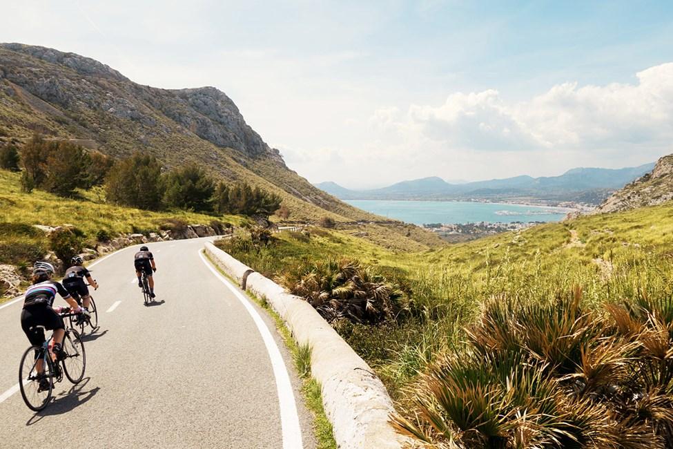 Mallorca er perfekt til cykling