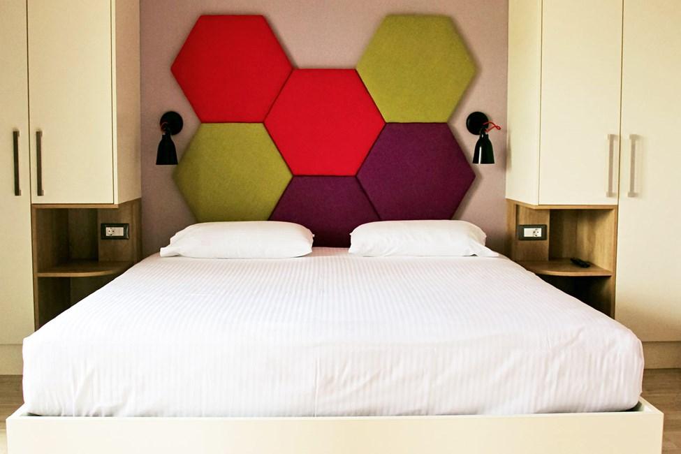 1-værelses lejlighed med begrænset havudsigt
