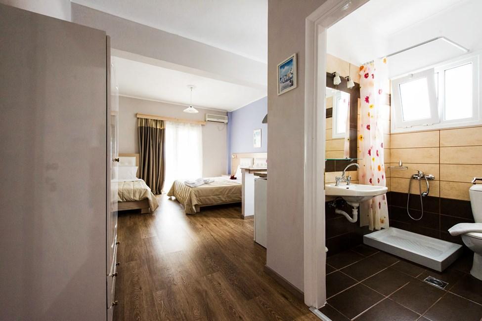 1-værelses lejlighed med havudsigt og mulighed for en ekstra opredning