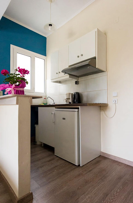1-værelses lejlighed med begrænset havudsigt og mulighed for en ekstra opredning