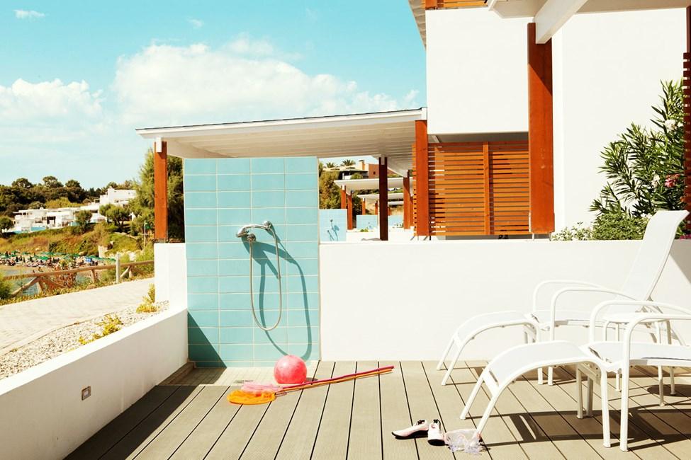 3-værelses Royal Lounge Suite i Poseidon med stor terrasse og havudsigt