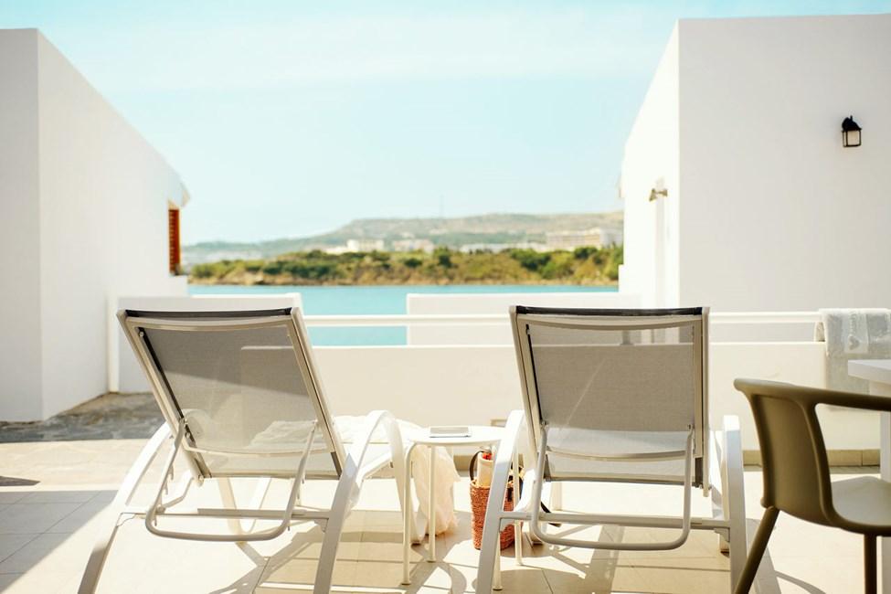 3-værelses Royal Lounge Suite med stor terrasse i Poseidon