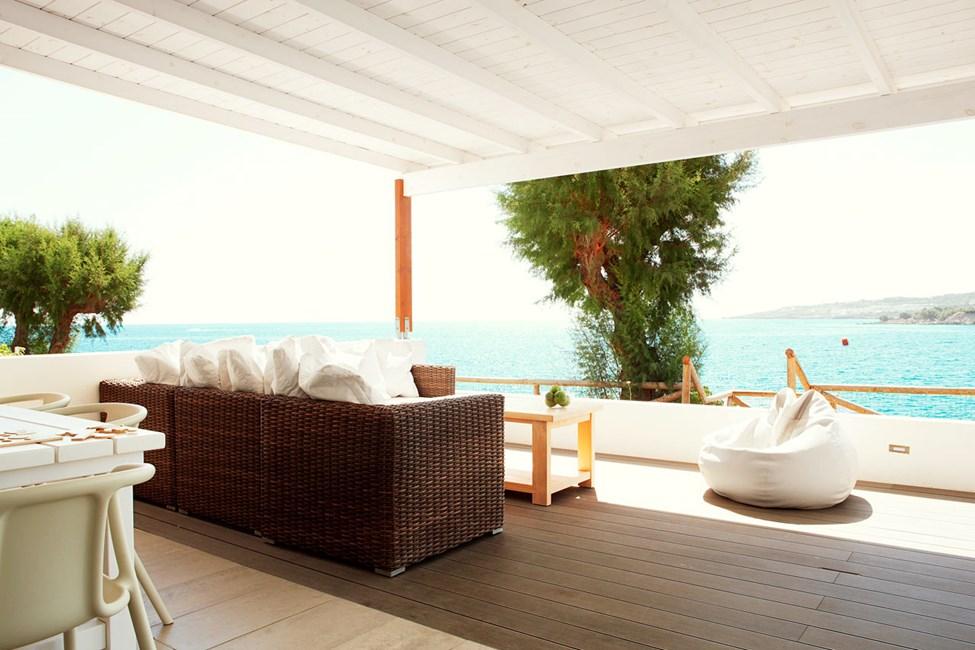 3-værelses Royal Lounge Suite med stor terrasse med havudsigt i Poseidon