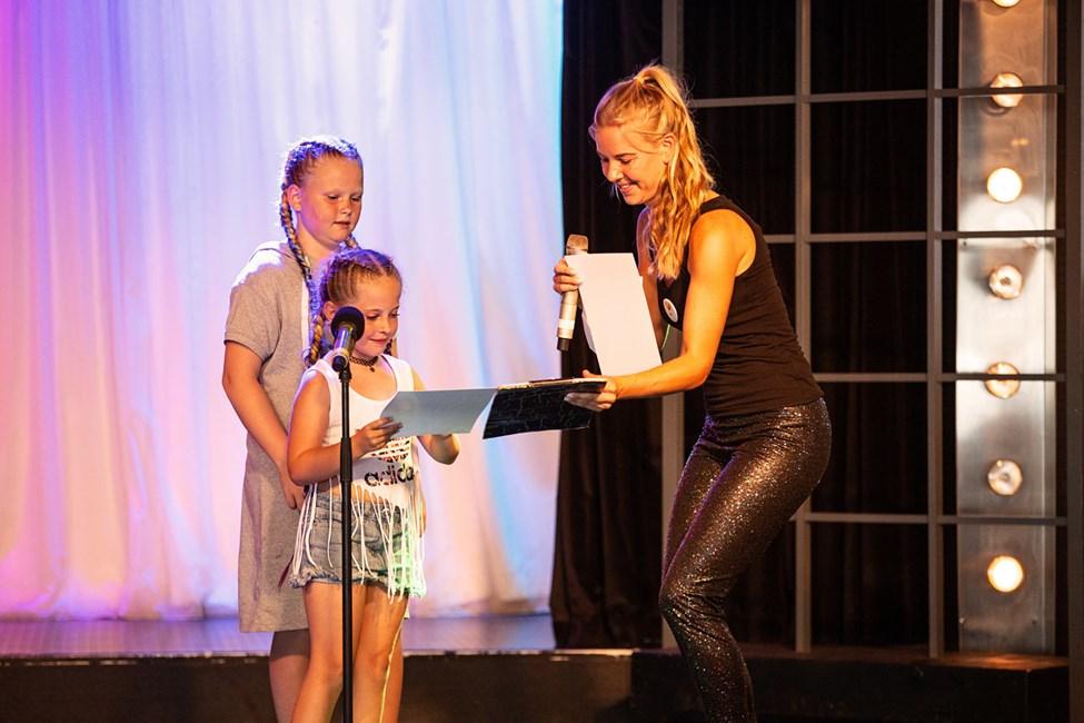 I Teen Idol får spirende små stjerner mulighed for at optræde på Sunwings scene