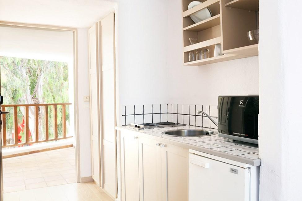 Junior Suite - udformningen af suiternes køkkenniche kan variere