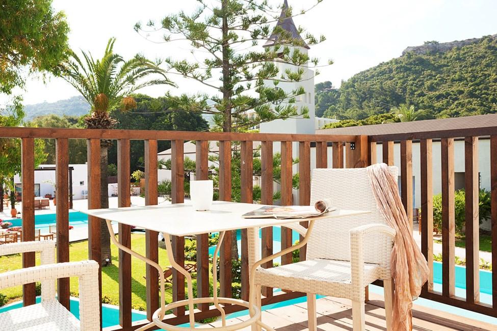 Junior Suite med balkon mod lagunen
